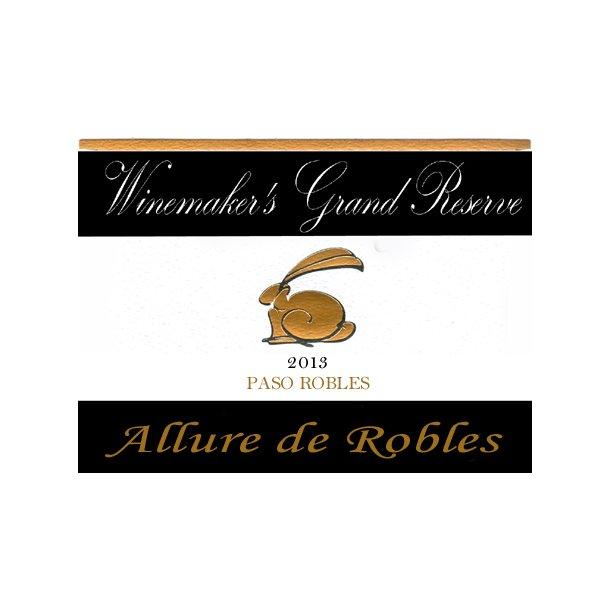 Allure de Robles, Winemaker´s Grand Reserve, Paso Robles, Rabbit Ridge, 2013