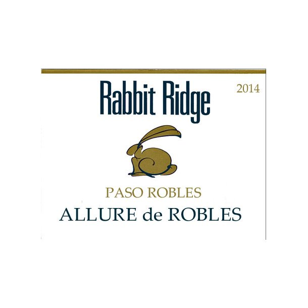 Allure de Robles, Paso Robles, Rabbit Ridge, Rød, 2014
