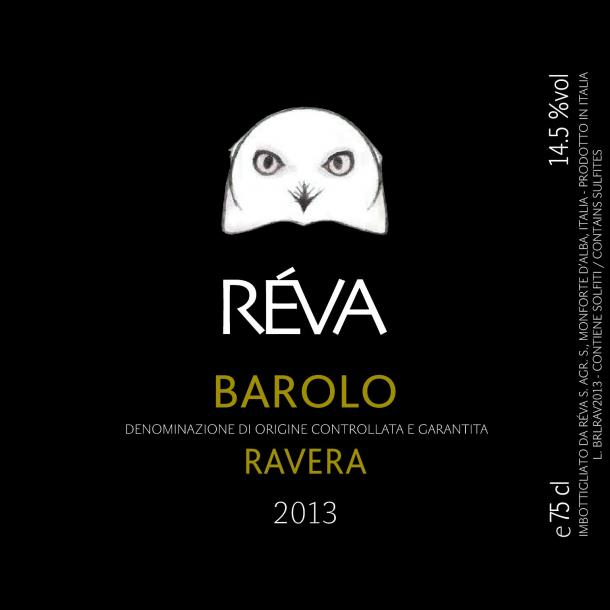 Barolo, Ravera, Réva, 2013