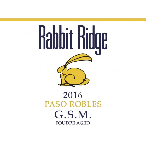 GSM, Paso Robles, Rabbit Ridge, 2016