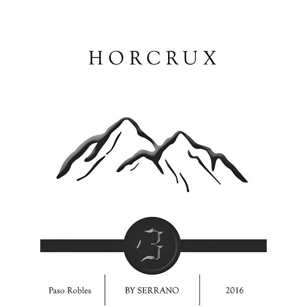 Horcrux, Willow Creek, Paso Robles, Serrano, 2016