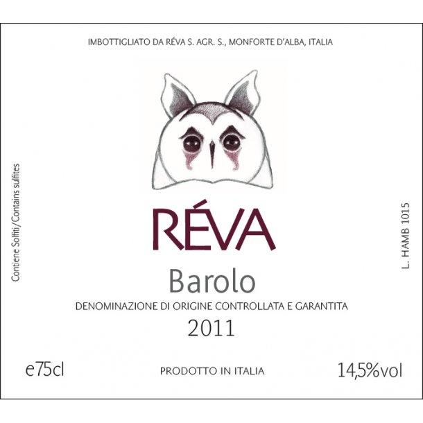 Barolo, Réva, 2015