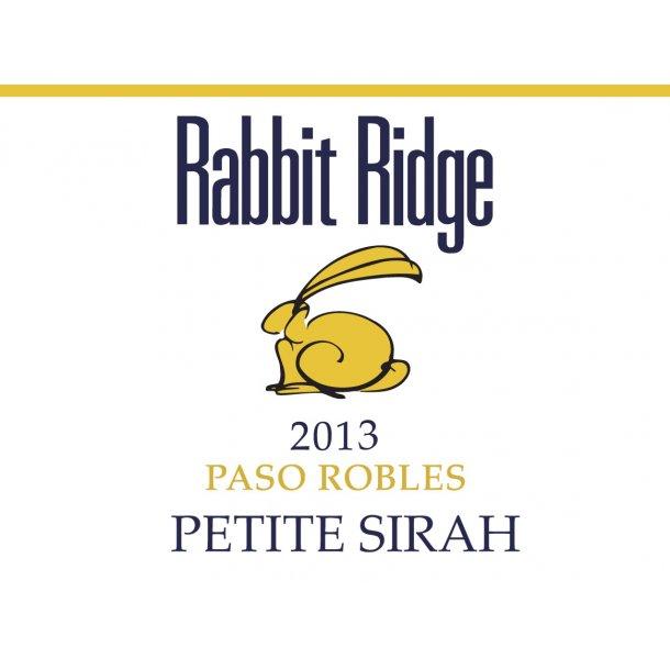 Petite Sirah, Paso Robles, Rabbit Ridge, 2013