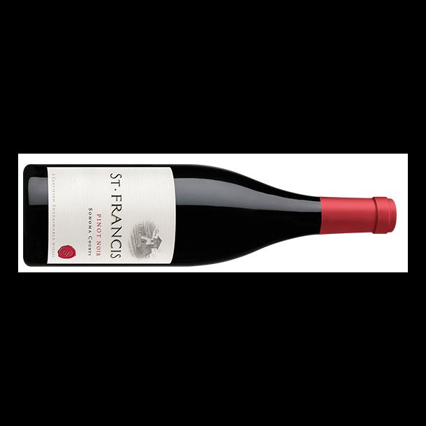 Pinot Noir, Sonoma, St. Francis Winery & Vineyards, 2017